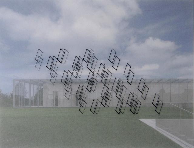 , 'Diálogo inmaterial en un espacio de Tadao Ando IV,' 2016, Diana Lowenstein Gallery