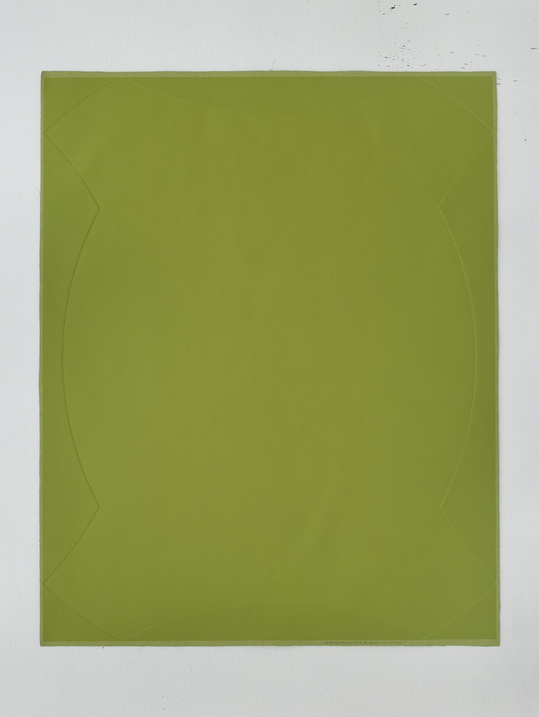 , 'A Perimeter of Little Fat Flesh - Green,' 2013, STPI