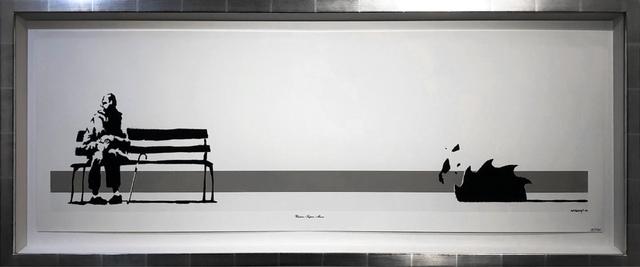 Banksy, 'Weston Super Mare', 2003, Oliver Clatworthy Gallery Auction