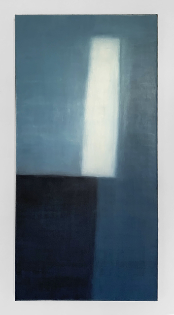 Louise Crandell, 'Falling Floating Flying (2102)', 2021, Painting, Oil and wax on linen, VSOP Projects