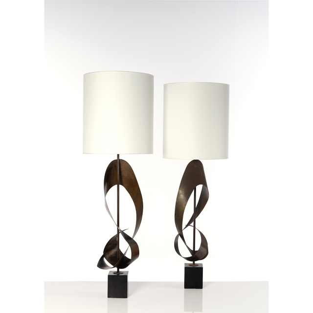 Laurel Lamp Company, 'Pair Of Table Lamps', 1960, PIASA
