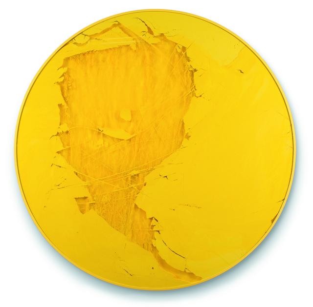 , 'Cercle jaune et tiges ,' , Espace Meyer Zafra
