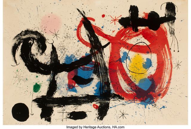 Joan Miró, 'Le Cheval Ivre', 1964, Heritage Auctions