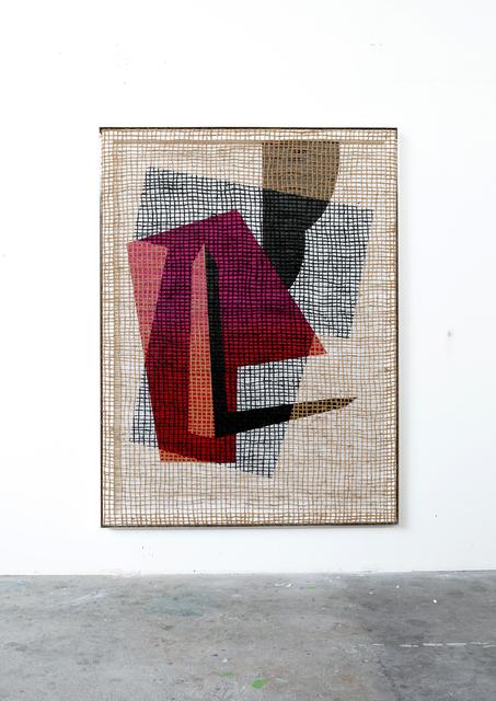 , 'Floorplan Desire Painting,' 2015, Wentrup
