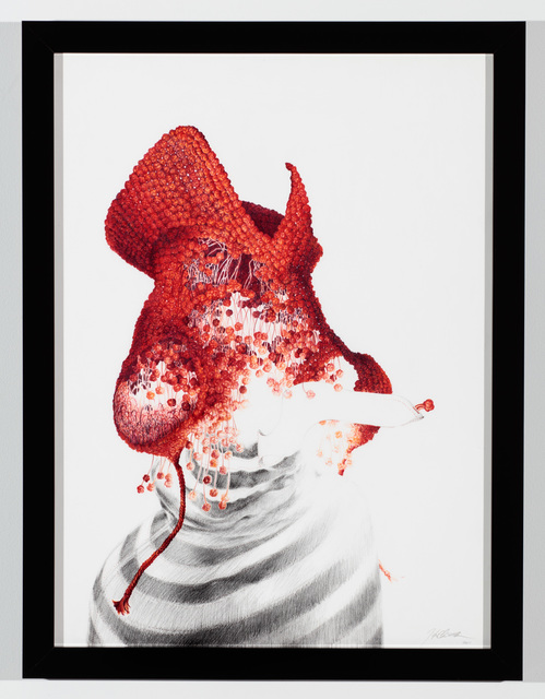 , 'Red Hat #2,' 2011, KAI Gallery