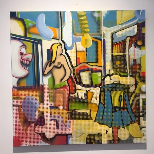 , 'Peeping Tom,' 2016, Galerie Vivendi