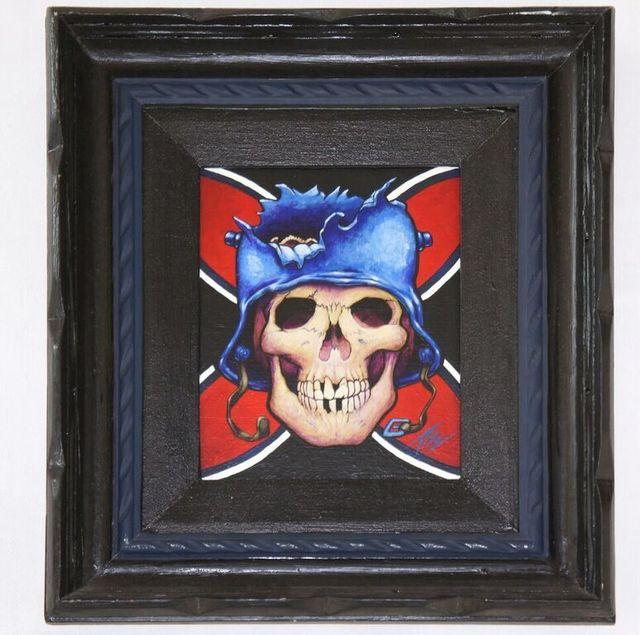 , 'The Treaty of Versailles was Written in Blood,' 1997, Gregorio Escalante Gallery