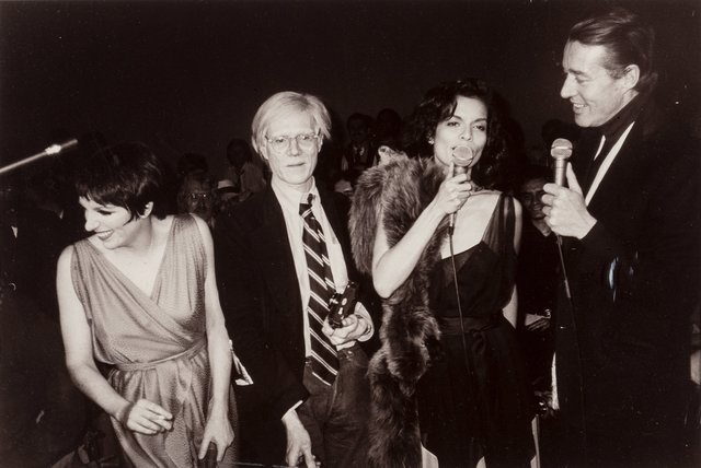 Christopher Makos, 'The Gang of Four at Studio 54 (Liza Minelli, Andy Warhol, Bianca Jagger, and Halston), April 27', 1978, Heritage Auctions