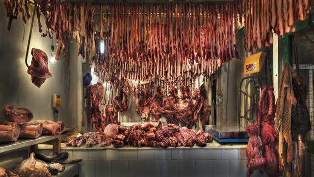 , 'Meat Market II,' 2010, Lucia Mendoza