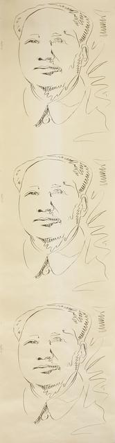 Andy Warhol, 'Mao Wallpaper', 1974, Sworders