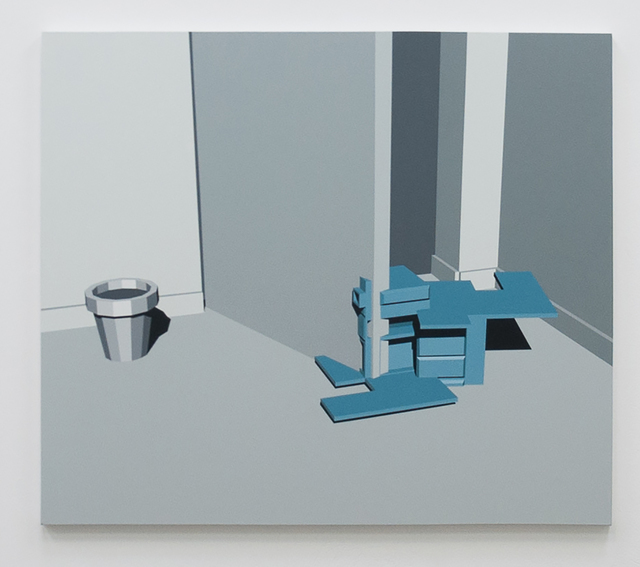 , 'Useless painting,' 2016, Instituto de Visión