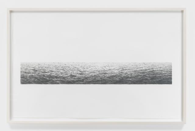 Vija Celmins, 'Untitled (Ocean)', 1972, Susan Sheehan Gallery