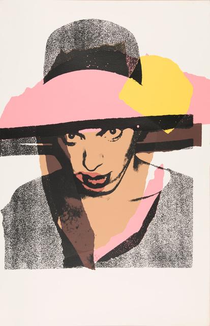 Andy Warhol, 'Ladies and gentlemen. F&S II.130', 1975, Odalys