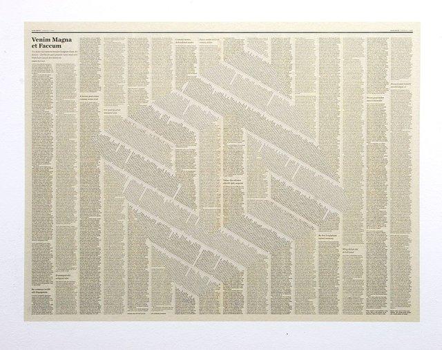 Tommy Grace, 'Faccum', 2009, Ingleby Gallery