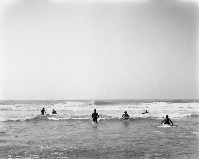 , 'Morning Surf at Poles ,' 2013, Roman Fine Art