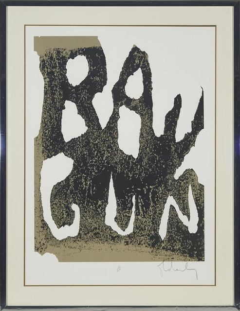 Claes Oldenburg, 'Thure Ray Gun', 1961, Print, Colour lithograph, Waddington's