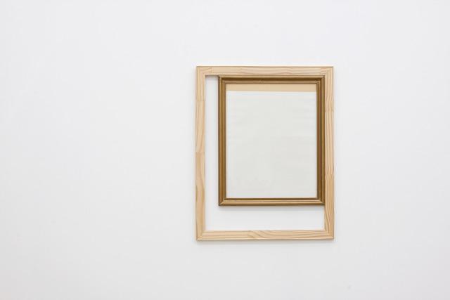 , 'Frame Inside a Wood Structure,' 2013, Alejandra von Hartz Gallery
