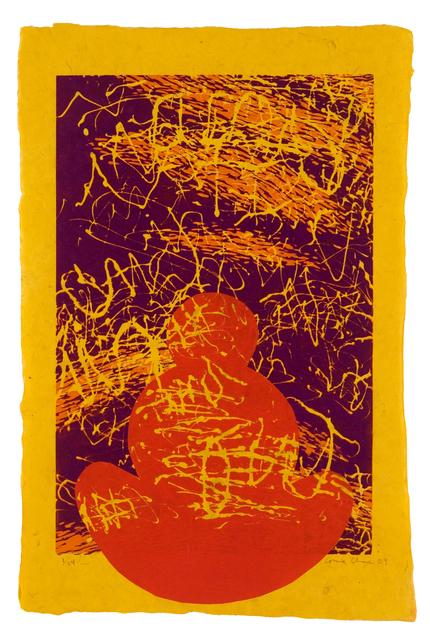 Louisa Chase, 'Untitled I (Buddha)', 2009, Goya Contemporary/Goya-Girl Press