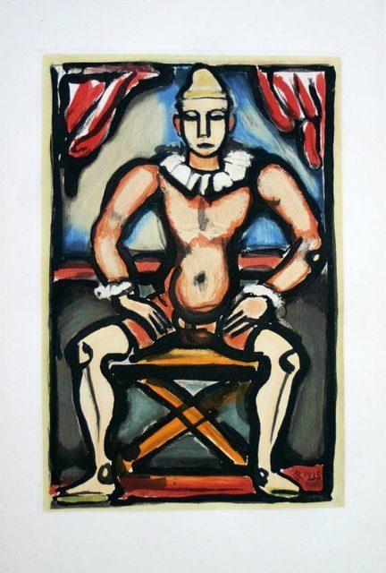 Georges Rouault, 'Cirque de l'Etoile Filante: Enfant de la Balle', 1935, Denis Bloch Fine Art