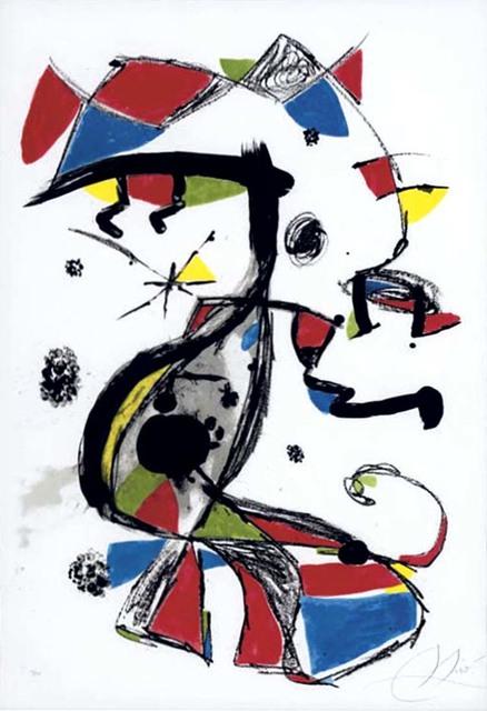 Joan Miró, 'Festa Major', 1978, Print, Color Lithograph on Arches paper, Masterworks Fine Art