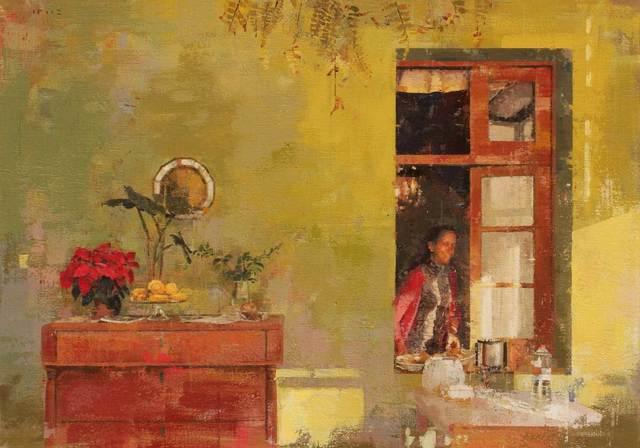 , 'La finestra,' 2017, GALERIA JORDI BARNADAS