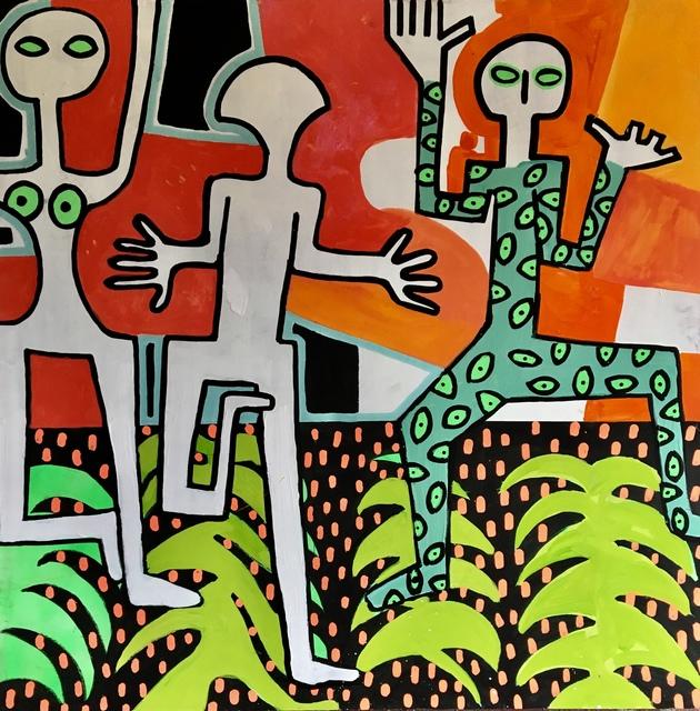 Frantisek Florian, 'African Figures 7', 2019, design art concepts