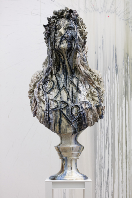 , 'Under construction (I am my own prophet),' 2017, Akinci