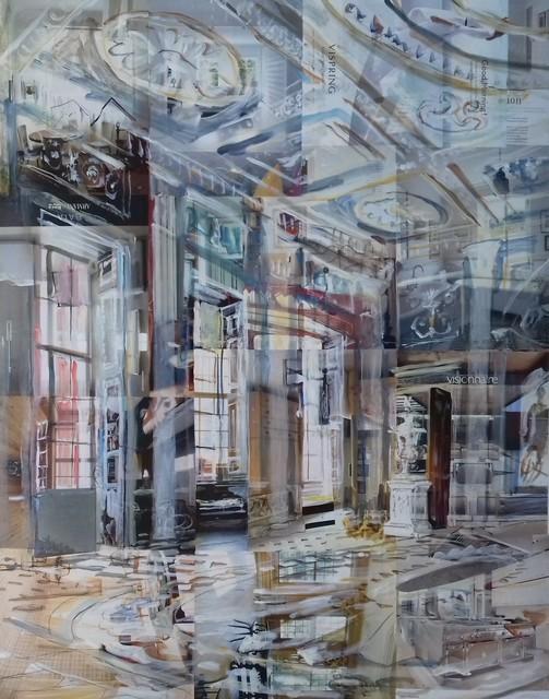 , 'Osterley Park House, Entrance Hall (visionnaire),' 2019, Quantum Contemporary Art