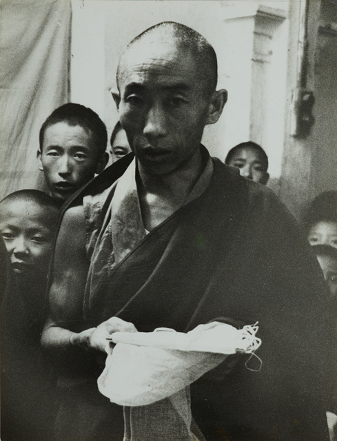 , 'Tibetan religious ceremony offering of the white scarf,' c. 1960, Jeu de Paume