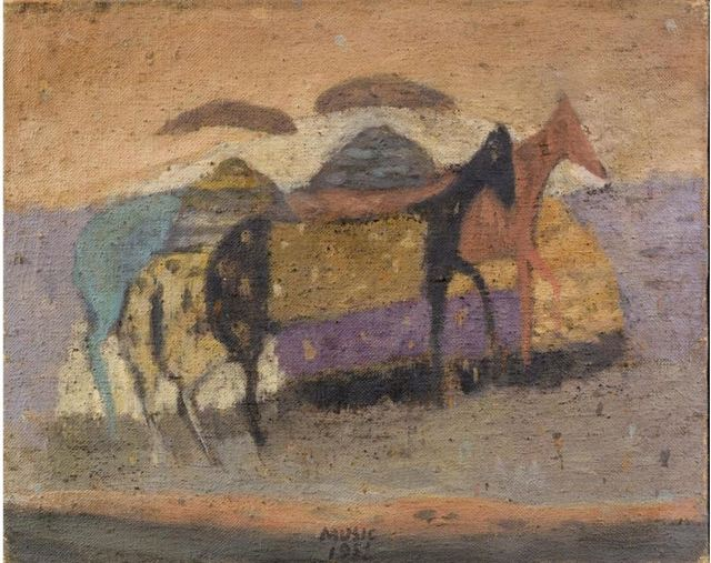 , ' Motivo Dalmata  ,' 1951, Contini Art Gallery