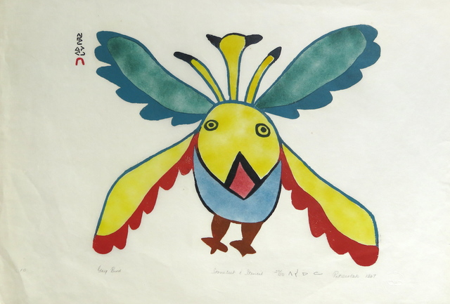 , 'Gay Bird,' 1967, Arctic Experience McNaught Gallery