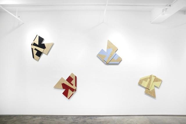 , 'Lines of Flight,' 2018, Josée Bienvenu