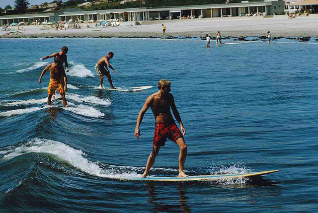 Slim Aarons, 'Surfing Brothers', 1965, IFAC Arts
