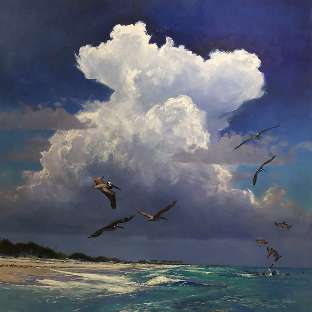 , 'Storm over Emerald Waters,' , LeMieux Galleries