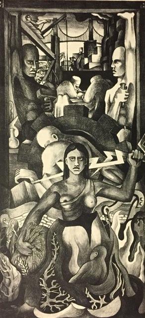 , 'Mural Study,' 1935, Susan Teller Gallery