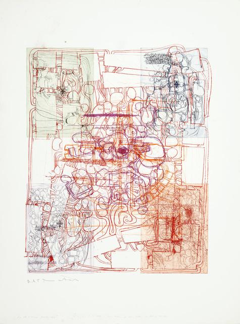 """, 'Untitled (Variation Entwurf zu einem Gralstempel), Aus der Serie """"Die Architektur des O. M. Theaters"""" Mappe III,' 1985-1990, Jahn und Jahn"""