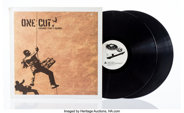 Banksy, 'OneCut- Grand Theft Audio', 2000, Heritage Auctions