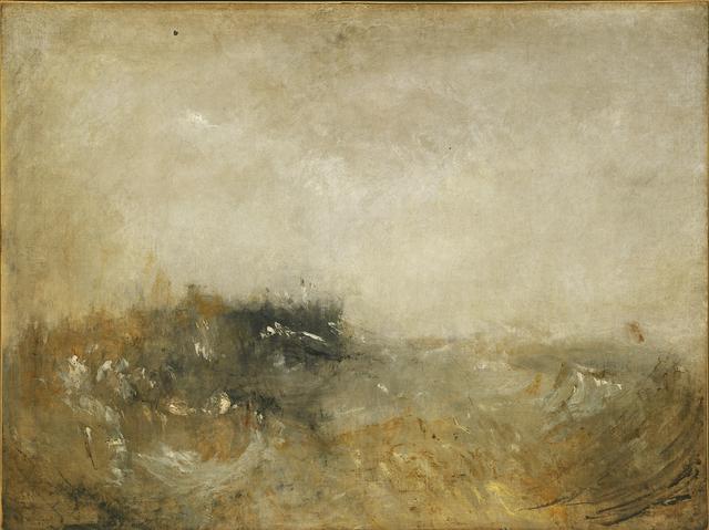 , 'Rough Sea,' 1840-1845, The Metropolitan Museum of Art