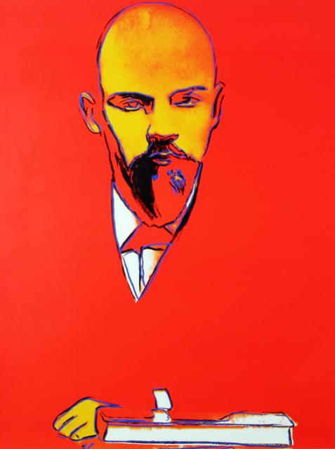 Andy Warhol, 'Red Lenin (FS II.403)', 1987, Print, Screenprint on Arches 88 Paper. Edition of 120., Gormleys Fine Art