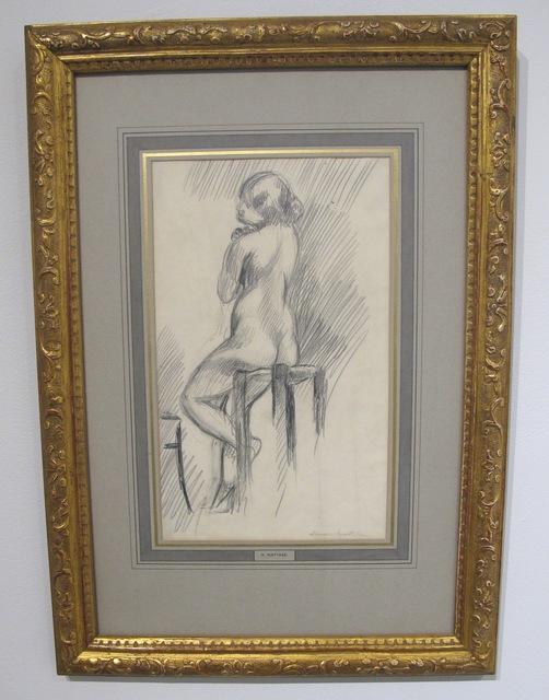 , 'Nu Assis sur un Tabouret,' 1906, Leila Heller Gallery