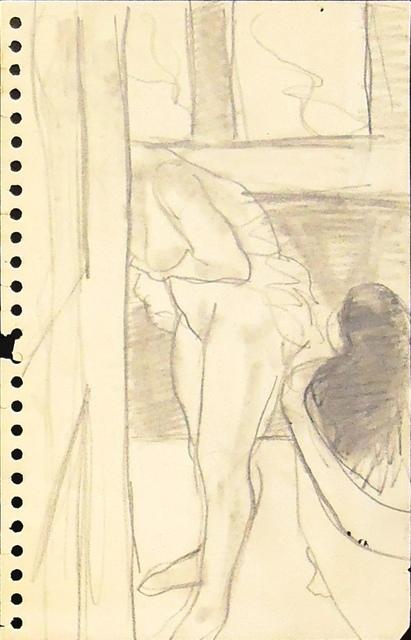 , 'Bathroom Figures,' ca. 1964, Cerulean Arts