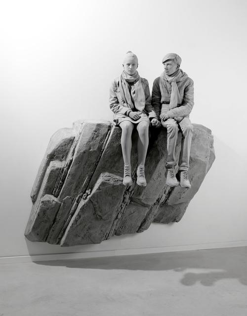 , 'The Cliff (wall piece),' 2019, Galerie Krinzinger