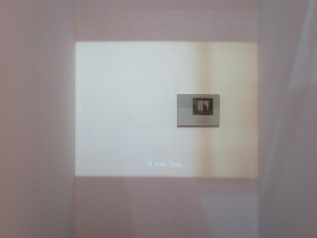 , ''It was Tom',' 2014, Padiglione d'Arte Contemporanea (PAC)