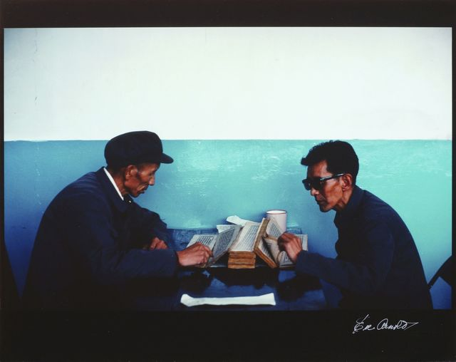 Eve Arnold, 'Chinese Doctors Reading Medical Receipts, Tibet', 1979, Roseberys