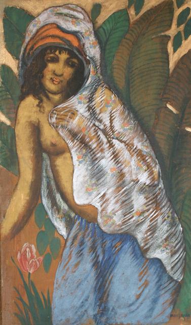 George Manzana-Pissarro, 'Woman with a White Veil', ca. 1915, Stern Pissarro