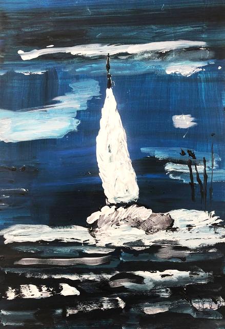 Isabelle Mahaut, 'Bateau dans la tempête', 2019, Galerie Libre Est L'Art