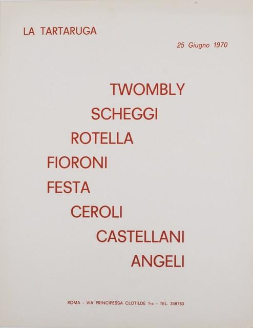 Various Artists, 'Group exhibit', 1970, Finarte