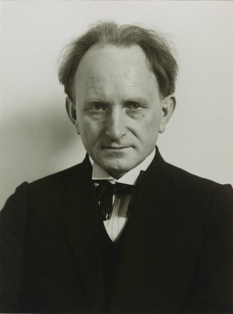 , 'Photographer [August Sander],' 1925, Galerie Julian Sander