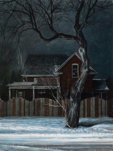 , 'Neve/Notte N.1,' 2019, Galleria Punto Sull'Arte