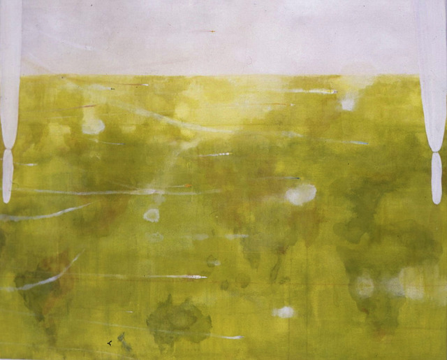 Hiroshi Sugito, 'Untitled', 1995, Painting, Acrylic and pigment on canvas, Elgiz Museum